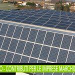 Regione Marche contributi fondo perduto per interventi di efficienza energetica