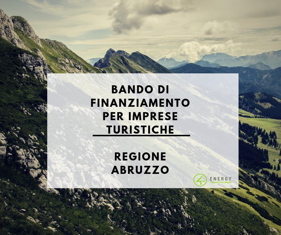 Bando di finanziamento Regione Abruzzo
