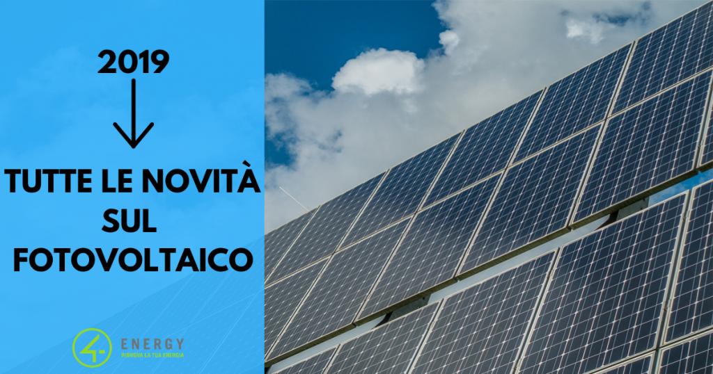 novità fotovoltaico