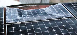 telaio fotovoltaico